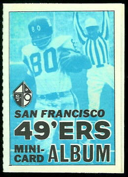 1969 Topps 4-in-1 Mini Album