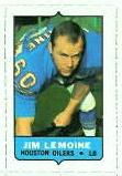 1969 Topps 4-in-1 Jim LeMoine stamp