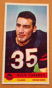 1959 Bazooka Rick Casares football card