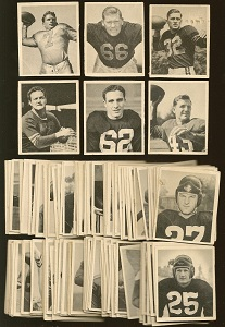 1948 Bowman football cards
