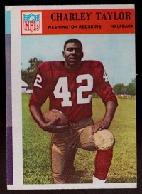 1966 philadelphia charley taylor football card