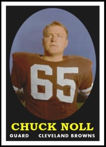 Chuck Noll RetroCard football card