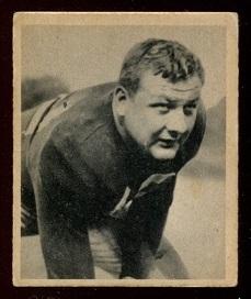 1948 Bowman #18 - Vince Banonis - ex