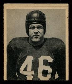 1948 Bowman #24 - John Koniszewski - ex miscut