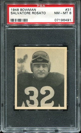 1948 Bowman #31 - Salvatore Rosato - PSA 8