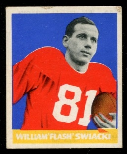1948 Leaf #12W - Bill Swiacki - good