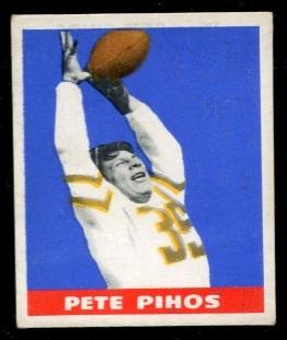 1948 Leaf #16Y - Pete Pihos - ex