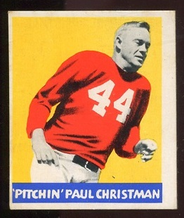 1948 Leaf #21 - Paul Christman - vg-ex