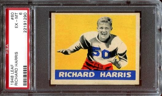 1948 Leaf #60 - Richard Harris - PSA 6