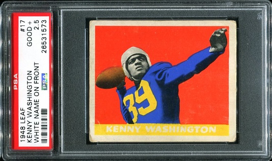 1948 Leaf #17W - Kenny Washington - PSA 2.5