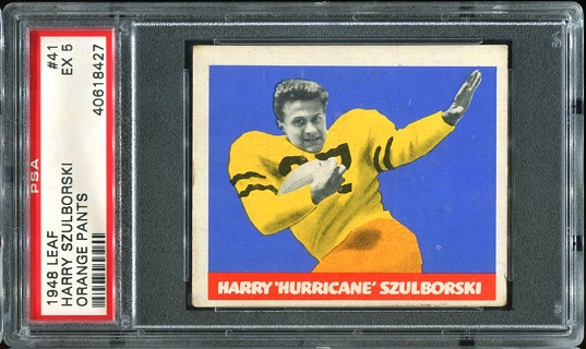 1948 Leaf #41O - Harry Szulborski - PSA 5