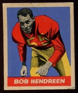 1949 Leaf #1 - Bob Hendren - vg