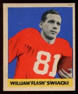 1949 Leaf #110 - Bill Swiacki - vg-ex+