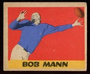1949 Leaf #17 - Bob Mann - vg+