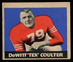1949 Leaf #31 - Tex Coulter - ex