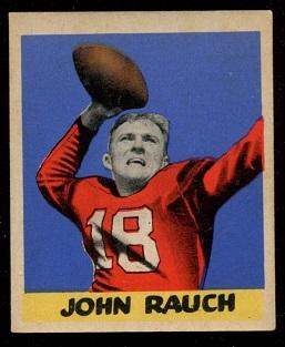 1949 Leaf #4 - John Rauch - ex