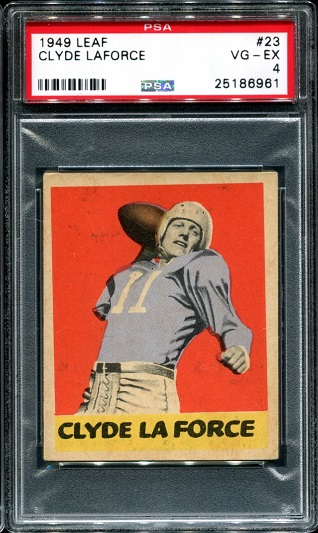 1949 Leaf #23 - Clyde LeForce - PSA 4