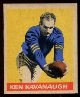 1949 Leaf #51 - Ken Kavanaugh - vg-ex