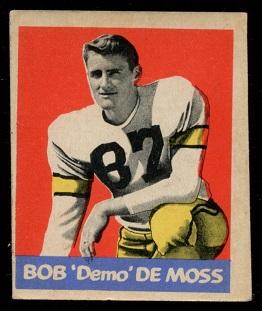 1949 Leaf #52 - Bob DeMoss - vg-ex