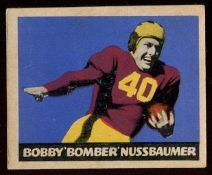 1949 Leaf #65 - Robert Nussbaumer - vg