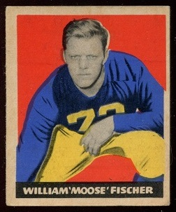 1949 Leaf #7 - Bill Fischer - ex