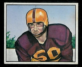 1950 Bowman #101 - Harry Ulinski - exmt