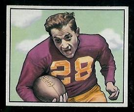 1950 Bowman #102 - Frank Spaniel - nm