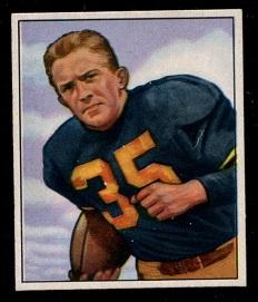 1950 Bowman #19 - Joe Geri - exmt