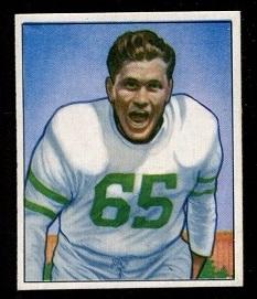 1950 Bowman #24 - Cliff Patton - exmt
