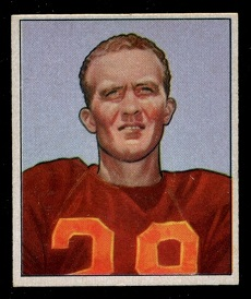 1950 Bowman #30 - Hugh Taylor - nm