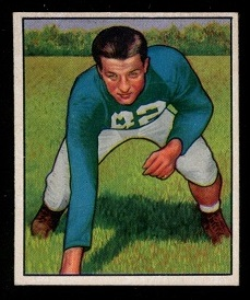 1950 Bowman #38 - Leon Hart - nm