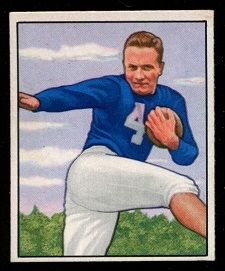 1950 Bowman #50 - Mike Swistowicz - nm