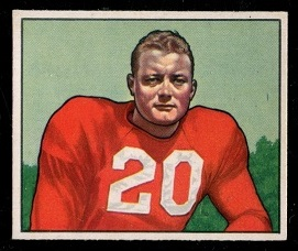 1950 Bowman #92 - Buster Ramsey - exmt+