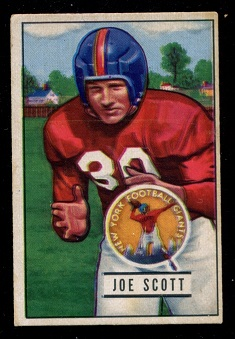 1951 Bowman #128 - Joe Scott - ex
