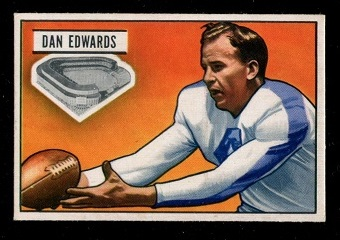 1951 Bowman #43 - Dan Edwards - good