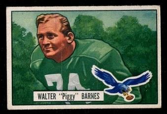 1951 Bowman #48 - Walter Barnes - exmt