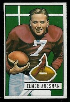 1951 Bowman #97 - Elmer Angsman - vg-ex