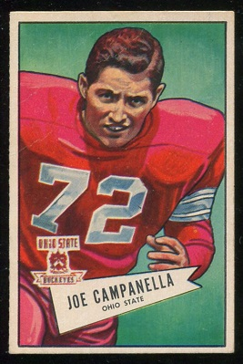 1952 Bowman Large #74 - Joe Campanella - vg