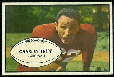 1953 Bowman #17 - Charley Trippi - ex