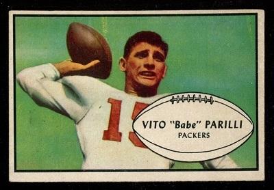 1953 Bowman #3 - Babe Parilli - ex