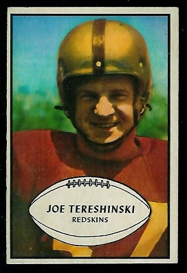 1953 Bowman #5 - Joe Tereshinski - exmt