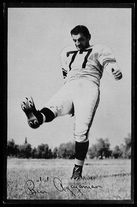 1953 Rams Team Issue #1 - Ben Agajanian - ex
