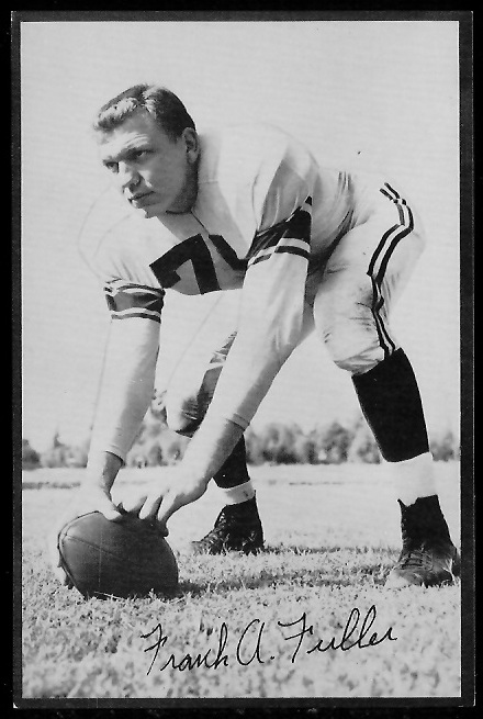1953 Rams Team Issue #10 - Frank Fuller - exmt