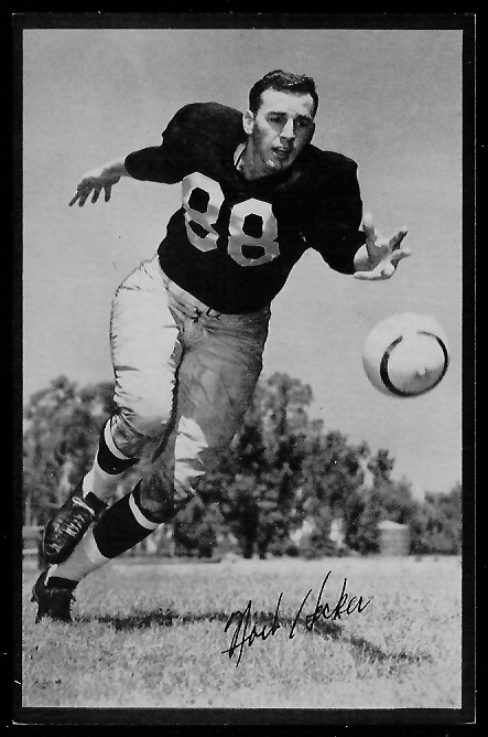 1953 Rams Team Issue #11 - Norb Hecker - exmt
