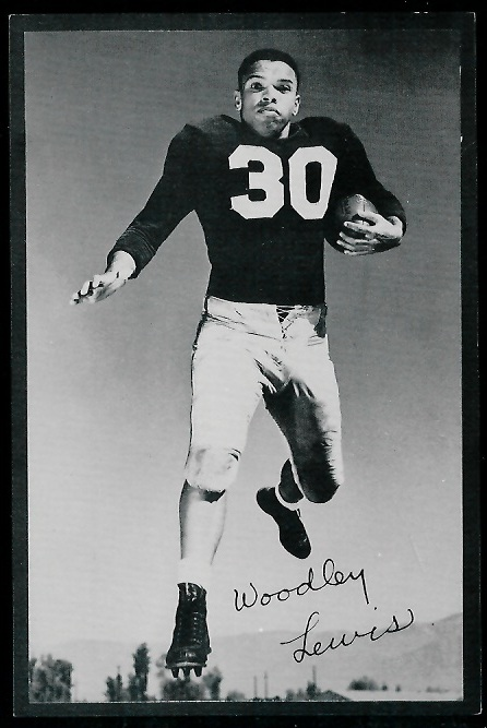 1953 Rams Team Issue #16 - Woodley Lewis - exmt