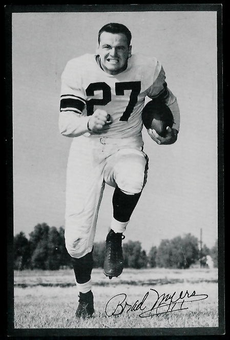 1953 Rams Team Issue #20 - Brad Myers - nm