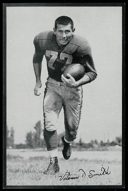 1953 Rams Team Issue #27 - Vitamin Smith - nm