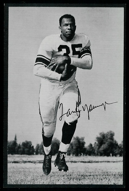 1953 Rams Team Issue #35 - Tank Younger - exmt