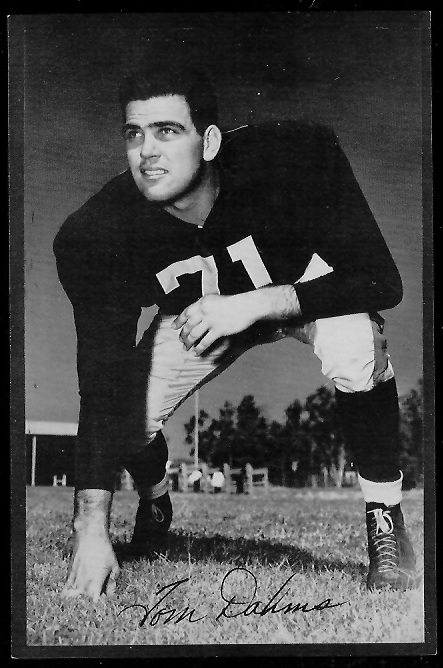 1953 Rams Team Issue #5 - Tom Dahms - exmt