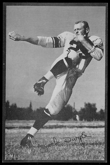 1953 Rams Team Issue #7 - Jack Dwyer - nm